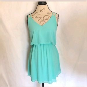 Winsor Womens Dress Size Medium Green